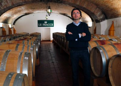 The winemaker Roberto Gerbino